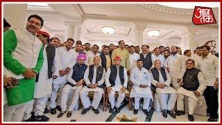 Dinner Party Politics In Uttar Pradesh; CM Yogi And Akhilesh Yadav Hosts Separate Dinner Parties - AAJTAKTV