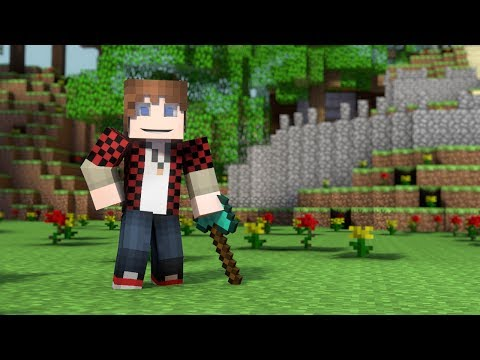 ♪ Hunger Games Song A Minecraft Parody of Decisions by Borgore Music Video