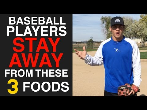 3 Foods Baseball Players MUST AVOID!