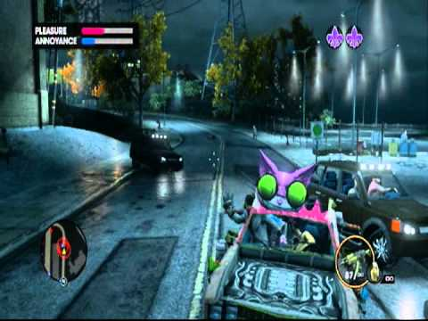 Lets Play SR3 COOP 3 with Zengrinn PT49: YARNGASM !!!