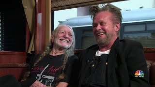 Willie Nelson And John Mellencamp Talk Farm Aid And Why It Continues | NBC Nightly News - NBCNEWS