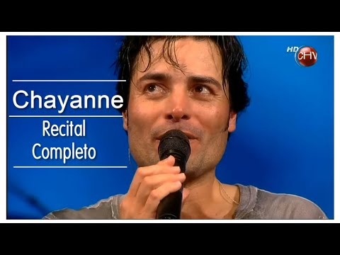 Chayanne * RECITAL COMPLETO HD FULL