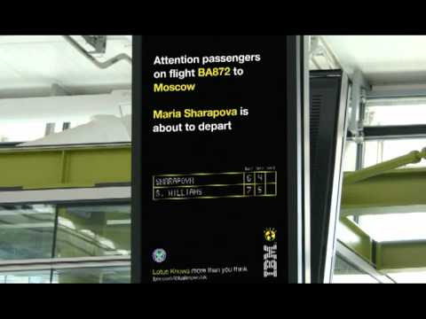 IBM's Wimbledon Lotus T5 campaign - smart!!