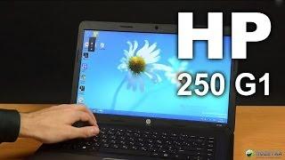 Обзор ноутбука HP 250 G1