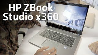HP ZBook Studio X360 unboxing - PCWORLDVIDEOS