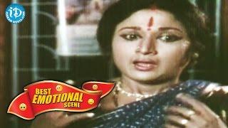 Telugu Movies || Best Emotional Scenes || Attaku Koduku Mamaku Alludu Movie || Vinod Kumar, Vanisri - IDREAMMOVIES
