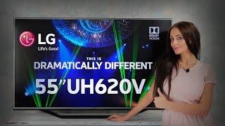 Видео-обзор телевизора LG 55UH620V
