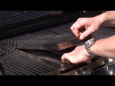 How do I clean my Charbroil grill?