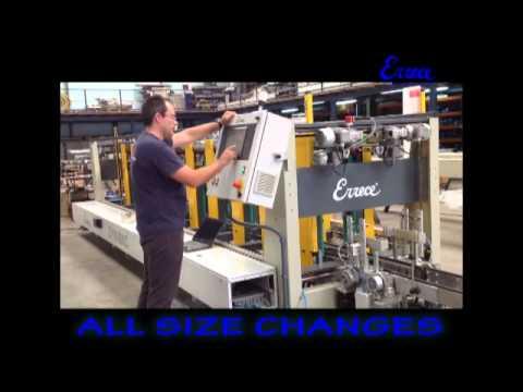 Errece Maquinaria Ceramica - END OF LINE - TAILOR MADE MACHINES