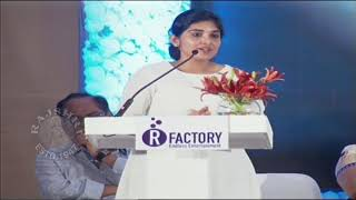 Nivetha Thomas Gets Emotional About Sridevi | Actress Sridevi Condolence Meet - RAJSHRITELUGU
