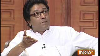 Raj Thackeray takes on Nitish Kumar in Aap Ki Adalat - INDIATV