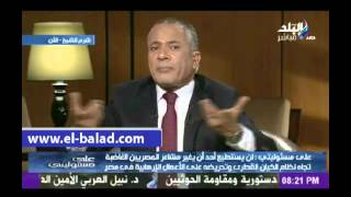 بالفيديو.. أحمد موسى: لا واسطة في لقاء السيسي مع أمير قطر