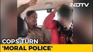 On Video, UP Cops Assault Woman For Alleged Relationship With Muslim Man - NDTV