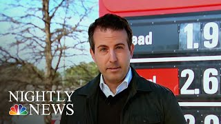 Gas Prices Plummeting Ahead Of Holiday Travel | NBC Nightly News - NBCNEWS