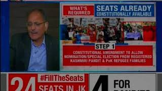 7 seats in the LS and 24 seats in the J&K assembly lie vacant, shouldn't these seats be filled? - NEWSXLIVE