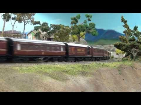 LMS 'The Irish Mail' (ish) : OO Gauge Model Train