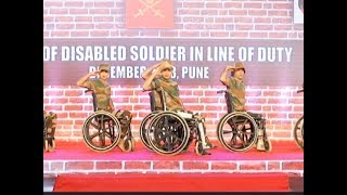Pune: Indian Army celebrates 'Year of Disabled Soldiers in Line of Duty - TIMESOFINDIACHANNEL