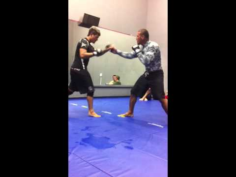 KJ Kama & Desi Dirty Boxing Warm Ups @ MMA BJJ