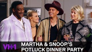 Snoop Dogg Invites His Uncle Rio To The Kitchen 'Sneak Peek' | Martha & Snoop's Potluck Dinner Party - VH1