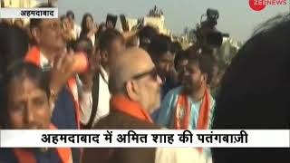 5W1H: Amit Shah flies kite on occasion of Makar Sankranti - ZEENEWS