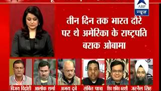 Is BJP seeking votes by exploiting Obama's name? - ABPNEWSTV