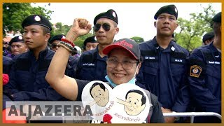 Thailand cracks down on protests against military rule - ALJAZEERAENGLISH