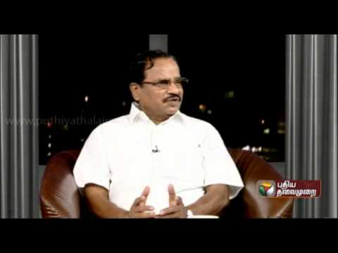 Tamilaruvi Manian Exclusive In Puthiya Thalaimurai - Agni Paritchai (23/03/2014) - Part 1