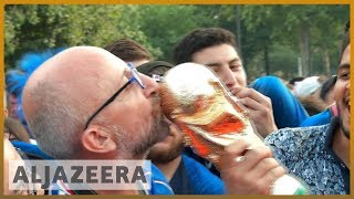 🇫🇷 France beat Croatia to win World Cup 2018 | Al Jazeera English - ALJAZEERAENGLISH