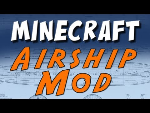 Minecraft Zeppelin Mod Work in Progress