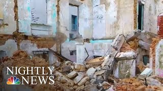Hurricane Ravaged Puerto Rico Begins Slow Recovery | NBC Nightly News - NBCNEWS