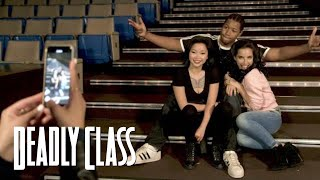 DEADLY CLASS   Behind The Scenes - Meet The Real Misfits   SYFY - SYFY
