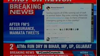 After FM's reassurance, Mamata Banerjee tweets 'is there a financial emergency on?' - NEWSXLIVE
