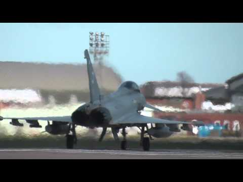 Eurofighter Typhoon performance take off