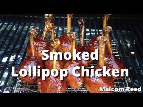 Chicken Lollipops Smoked | How To Smoke Chicken Lollipops with Malcom Reed from HowToBBQRight