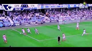 أهداف مباراة كوينز بارك رينجرز 2-2 ستوك سيتي