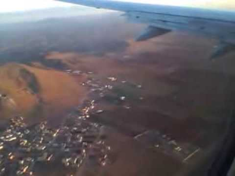 Corendon Dutch Airlines landing at Nador Aroui Airport  01/11/2013    06:50