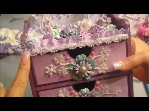 Gorgeous Magical Fairy Castle Drawers *Sparkle Alert*