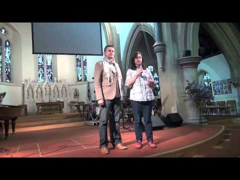 Daughter's megacolon healed & no operation - John Mellor Australian Healing Evangelist