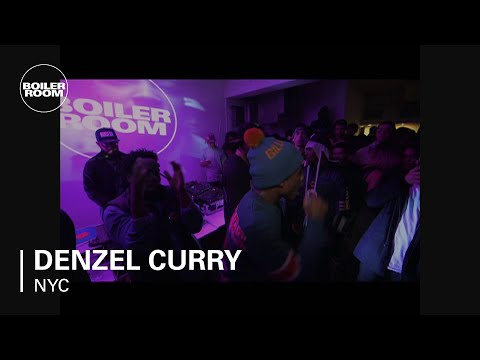 Denzel Curry Performs @ CMJ's NYC Boiler Room Session