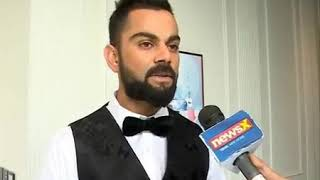 Virat Kohli Interview | Kohli's launches his brand One8 with Puma - NEWSXLIVE