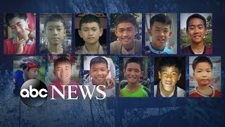 'I felt nervous and worried': 12 boys, coach trapped inside Thai cave:  20/20 Part 1 - ABCNEWS