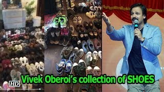 Vivek Oberoi's collection of SHOES - IANSLIVE