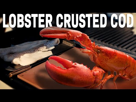 Fish Fillets with Lobster and Brandy Stuffing recipe by the BBQ Pit Boys