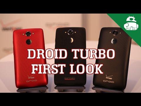 Motorola Droid Turbo First Look!
