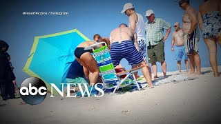 Woman impaled by beach umbrella prompts safety warning - ABCNEWS