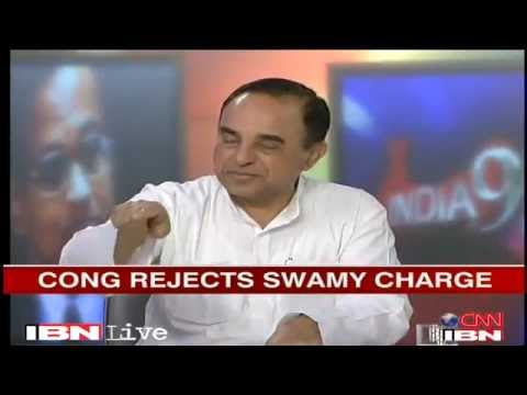 2G Scam debate: Subramanian Swamy vs Abhishek Sighvi (full)