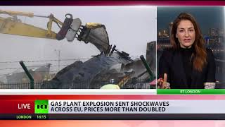 Gas prices double as Austrian plant explosion sends shockwaves - RUSSIATODAY