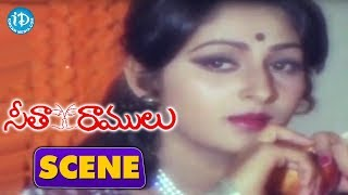 Seetha Ramulu Movie Scenes - Jayaprada With Preganancy || Krishnam Raju - IDREAMMOVIES