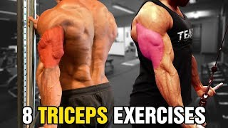 8 Tricep Exercises for Bigger Arms