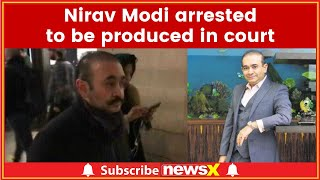 Nirav Modi arrested in London, to be produced in court today - NEWSXLIVE